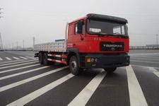 青年曼国四后双桥,后八轮货车409马力14吨(JNP1250FD31)