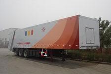 远达13米17.5吨3轴压缩式垃圾半挂车(SCZ9350ZYS)