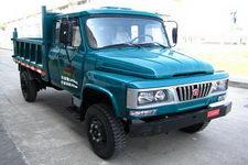 福达牌FD2510CPD2型自卸低速货车