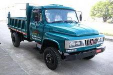 福达牌FD2510CD2型自卸低速货车
