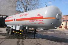 建成牌JC9310GYQ型液化气体半挂运输车图片