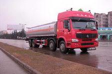 华威驰乐牌SGZ5311GHYZZ3W型化工液体运输车图片