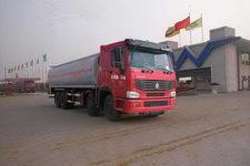 华威驰乐牌SGZ5310GHYZZ3W型化工液体运输车图片