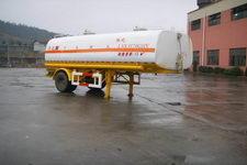 陆氏6.9米10吨1轴化工液体运输半挂车(LSX9170GHY)