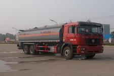 华威驰乐牌SGZ5255GHYSX3型化工液体运输车图片