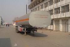 昌骅11.7米24.8吨2轴化工液体运输半挂车(HCH9350GHY)