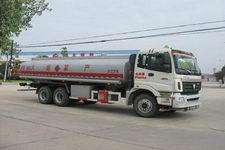 楚胜牌CSC5252GHYB型化工液体运输车图片