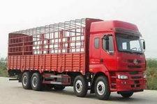 东风柳汽国三前四后八仓栅式运输车271-314马力15-20吨(LZ5312CSQEL)