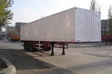 天山牌TSQ9401XXY型厢式运输半挂车图片