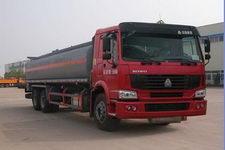 华威驰乐牌SGZ5250GHYZZ3W型化工液体运输车图片