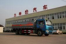 醒狮牌SLS5252GHYC3型化工液体运输车图片