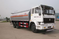 SGZ5250GHYZZ3J52型华威驰乐牌化工液体运输车图片