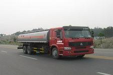 楚胜牌CSC5257GHYZ型化工液体运输车图片