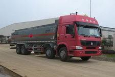 运力牌LG5312GHYZ型化工液体运输车图片