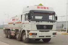 德尊牌SZZ5315GHYNN306型化工液体运输车图片