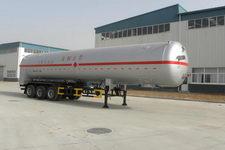 绿叶13米19.4吨3轴低温液体运输半挂车(JYJ9400GDY)