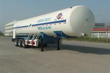 汇达牌YHD9400GDY07型低温液体运输半挂车