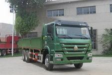 豪泺国四后双桥,后八轮货车269马力14吨(ZZ1257M4347D1)