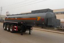 特运牌DTA9400GFW型腐蚀性物品罐式运输半挂车