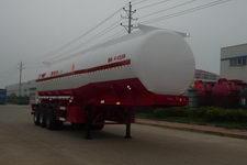 特运牌DTA9406GRY型铝合金易燃液体罐式运输半挂车