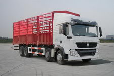 重汽豪沃(HOWO)国四前四后八仓栅式运输车310-337马力15-20吨(ZZ5317CCYN466GD1)