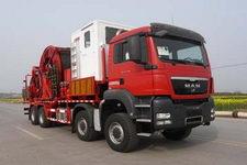 四机牌SJX5430TLG290型连续油管作业车