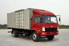重汽HOWO轻卡国四单桥厢式运输车156-170马力5-10吨(ZZ5127XXYG451CD1)
