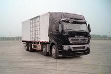重汽豪沃(HOWO)国四前四后八厢式运输车324-364马力15-20吨(ZZ5317XXYN466MD1B)