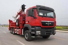 四机牌SJX5310TLG290型连续油管作业车