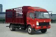 重汽HOWO轻卡国四单桥仓栅式运输车156-170马力5-10吨(ZZ5127CCYG421CD1)