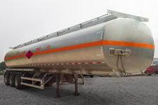 三轴牌CSH9400GYY型铝合金运油半挂车