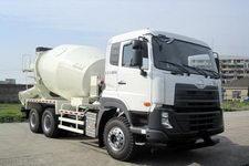 东风日产柴牌DND5250GJBWA37型混凝土搅拌运输车
