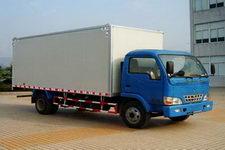 长安跨越国三单桥厢式运输车116-120马力5吨以下(SC5050XXYKD31)