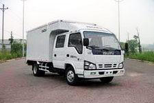 五十铃牌NKR77LLLWCJAXS型厢式货车图片
