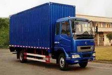 东风柳汽国三单桥厢式运输车160-180马力5吨以下(LZ5121XXYLAP)