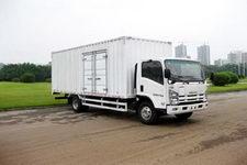 庆铃国三单桥厢式货车175马力5吨以下(QL5090XTKAR)