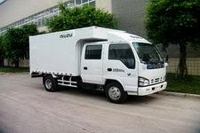五十铃牌NKR77LLEWCJAXS型厢式货车图片