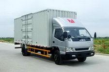 江铃汽车国三单桥厢式运输车156马力5吨以下(JX5090XXYXRC2)
