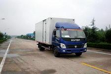 福田欧马可国三单桥厢式运输车156马力5吨以下(BJ5099VECED-FA)