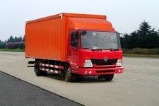 东风商用车国三单桥厢式运输车116-132马力5吨以下(DFL5060XXYB)
