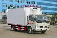 國五東風多利卡4.1米貨箱冷藏車廠家直銷價