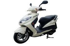 豪进牌HJ125T-3G型两轮摩托车图片