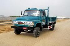 福达牌FD2815CD型自卸低速货车