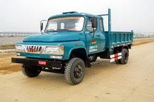 福达牌FD2815CPD型自卸低速货车