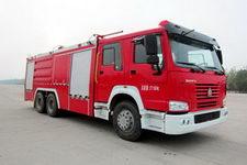 中卓时代牌ZXF5270TXFGP100型干粉泡沫联用消防车