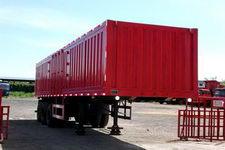 榆公11米31.5吨3轴厢式运输半挂车(YCG9400XXY)