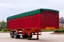 南明牌LSY9351XXYP型篷式运输半挂车图片