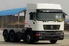 陕汽后双桥,后八轮牵引车385马力(SX4257NV324C)