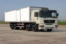 陕汽重卡国三前四后八厢式运输车336-381马力15-20吨(SX5315XXYNT456)