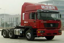 陕汽后双桥,后八轮集装箱半挂牵引车290马力(SX4257NR324K)